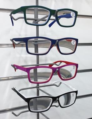 Γυαλιά πρεσβυωπίας .Βαθμοί 1-1,25-1,5-1,75-2-2,25-2,5-2,75-3-3,25-3,5-3,75-4 (Κωδ.10)